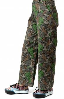 Lazy Oaf Women's, Mr. Men Camo Work Pants