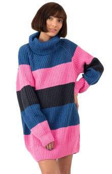 Roll Neck Stripy Jumper