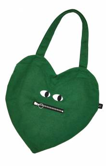 Zippy Mouth Heart Bag