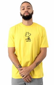 Lazy Snoopy T-Shirt - Yellow