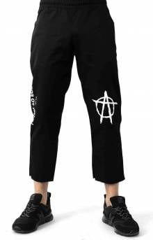Anarchy Logo Chino Pants - Black