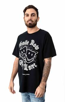 Smile Now Cry Later T-Shirt - Black