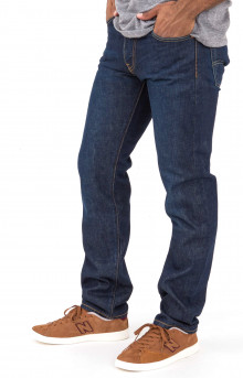 511 Slim Fit Dark Authentic Selvedge Jeans - Long Bottoms
