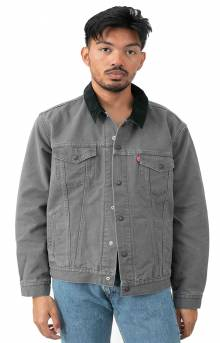 Lined Truck Jacket - Magnet Canvas