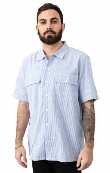 Skate Button-Up Shirt - Haus Stripe Blue/White