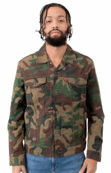 2d6d22a145 Levi s Jeans The Trucker Jacket - Camo