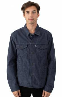 The Trucker Jacket - Ombre Blue