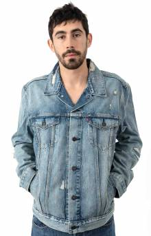 Trucker Jacket - Get Ripped Light Wash