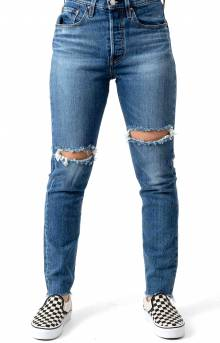 501 Skinny High Rise Jeans - Jive Step