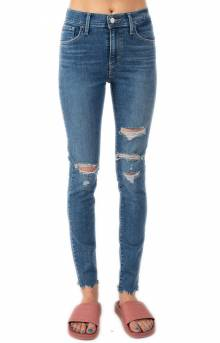 720 Hi Rise Super Skinny Jeans - Hometown Blue