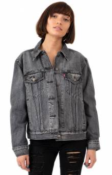 Ex-Boyfriend Trucker Jacket - Charcoal Fade