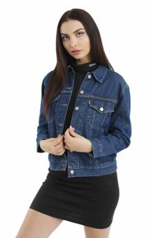 Ex-Boyfriend Trucker Jacket - New Blue