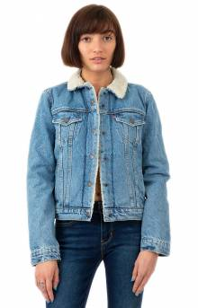 Original Sherpa Trucker Jacket - Divided Blue