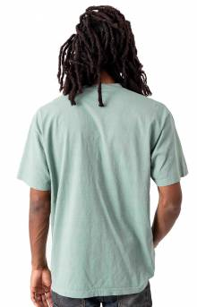 1801GD Garment Dye S/S T-Shirt - Atlantic Green