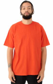1801GD Garment Dye S/S T-Shirt - Bright Orange