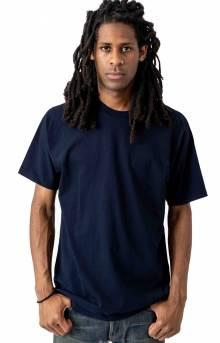 1801GD Garment Dye S/S T-Shirt - Navy