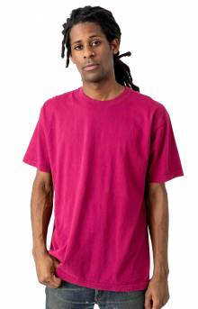 1801GD Garment Dye S/S T-Shirt - Ruby