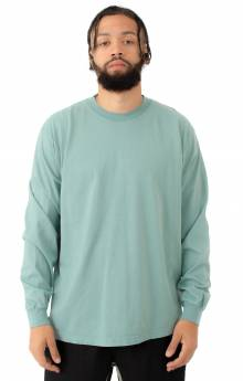 1807GD Garment Dye L/S Shirt - Atlantic Green
