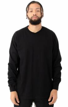 1807GD Garment Dye L/S Shirt - Black
