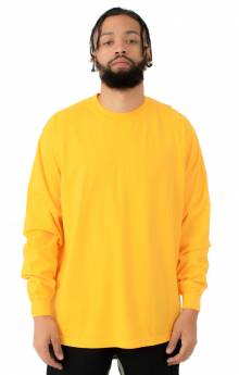1807GD Garment Dye L/S Shirt - Gold