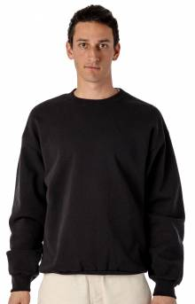 HF07 Heavy Fleece Crewneck - Black
