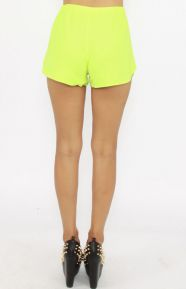 Lovers & Friends Clothing, Woodstock Shorts - Lime