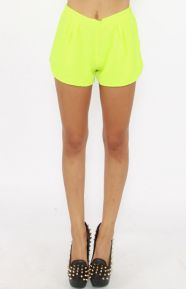 Woodstock Shorts - Lime