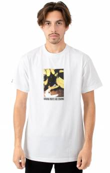 Made In Paradise, Banana Boat T-Shirt - White