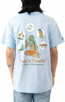 Path To Enlightenment T-Shirt - Powder Blue
