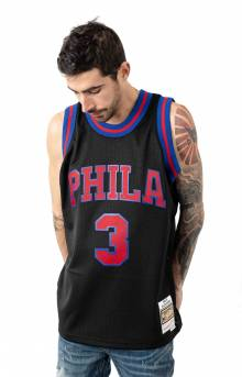 Blackout Pop Swingman Jersey - Iverson