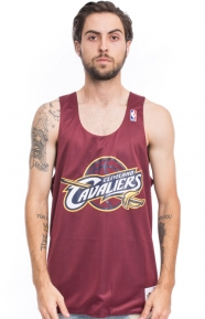 Mitchell & Ness Clothing, Cavaliers Drop Step Mesh Tank