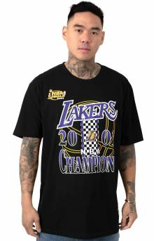 Lakers Checked 96 Championship T-Shirt