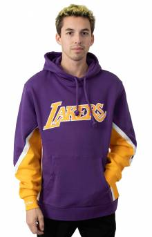 NBA Final Seconds Fleece Pullover Hoodie - Lakers