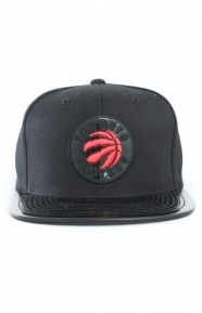 Mitchell & Ness Clothing, Patent 2T Tonal Snap-Back Hat - Raptors