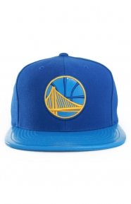 Mitchell & Ness Clothing, Patent 2T Tonal Snap-Back Hat - Warriors