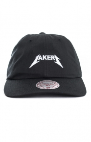 Mitchell & Ness Clothing, Rock Font Dad Hat - Lakers