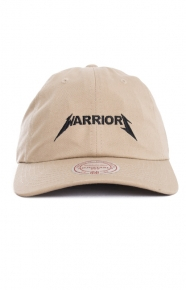 Mitchell & Ness Clothing, Rock Font Dad Hat - Warriors