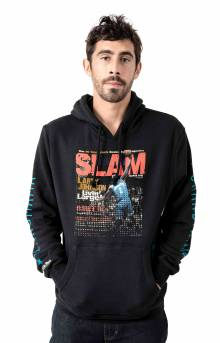 Slam Cover Hoody Charlotte Hornets Larry Johnson