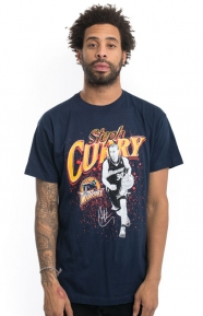 Mitchell & Ness Clothing, Stephen Curry B&W Photo Real T-Shirt