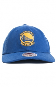 Mitchell & Ness Clothing, Warriors NBA Flex Slouch Cap - Blue