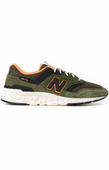 (CM997HJR) 997H Shoes - Olive/Orange