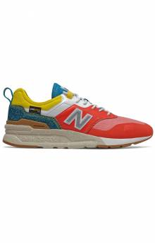 (CMT997HG) 997H Spring Hike Trail Shoes - Neo Flame/Classic Blue/Yellow
