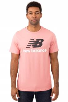 Essential Stacked Logo T-Shirt - Dusted Peach