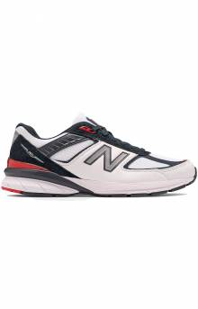 (M990NL5) 990v5 Shoes - Carbon/Red/White