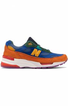 (M992MC) 992 Shoes - Orange/Blue/Yellow