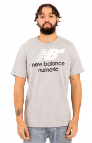 Numeric Stacked T-Shirt - Grey