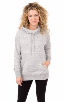 Heathered Pullover Hoodie - Heather Grey