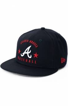 9Fifty Arched Atlanta Braves Snap-Back Hat