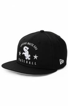 9Fifty Arched Chicago White Sox Snap-Back Hat