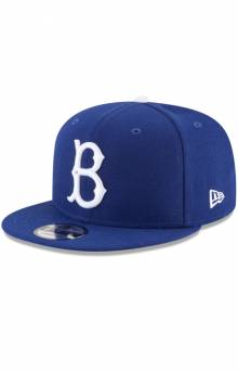 Brooklyn Dodgers Team Color Basic 9Fifty Snap-Back Hat